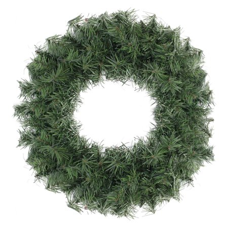 Northlight 18 in. Artificial Canadian Pine Unlit Christmas Wreath ()