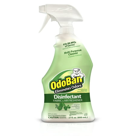 OdoBan Original Eucalyptus Scent Disinfectant Fabric & Air Freshener, 27 fl oz ()