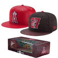 hot sale online a811e b59ed Product Image Los Angeles Angels New Era Mike Trout 2-Time MVP Adjustable  Hat Box Set -