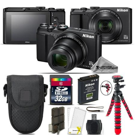Nikon Coolpix A900 Point and Shoot Digital Camera - Black - Kit