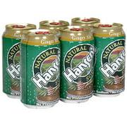 Hansen's Natural Ginger Ale Soda, 12 oz (Pack of 4)