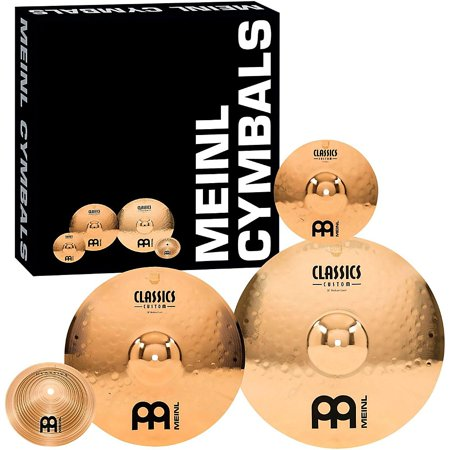 (Meinl Classics Custom Crash Cymbal Pack)