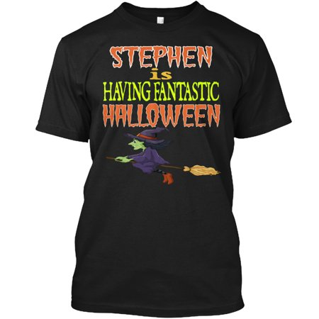 STEPHEN IS HAVING FANTASTIC HALLOWEEN Hanes Tagless Tee T-Shirt - Halloween Stephen Lyrics