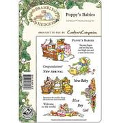 "Crafter's Companion Brambley Hedge EZMount Stamp Set 8.5""X5.5""-Poppy's Babies"