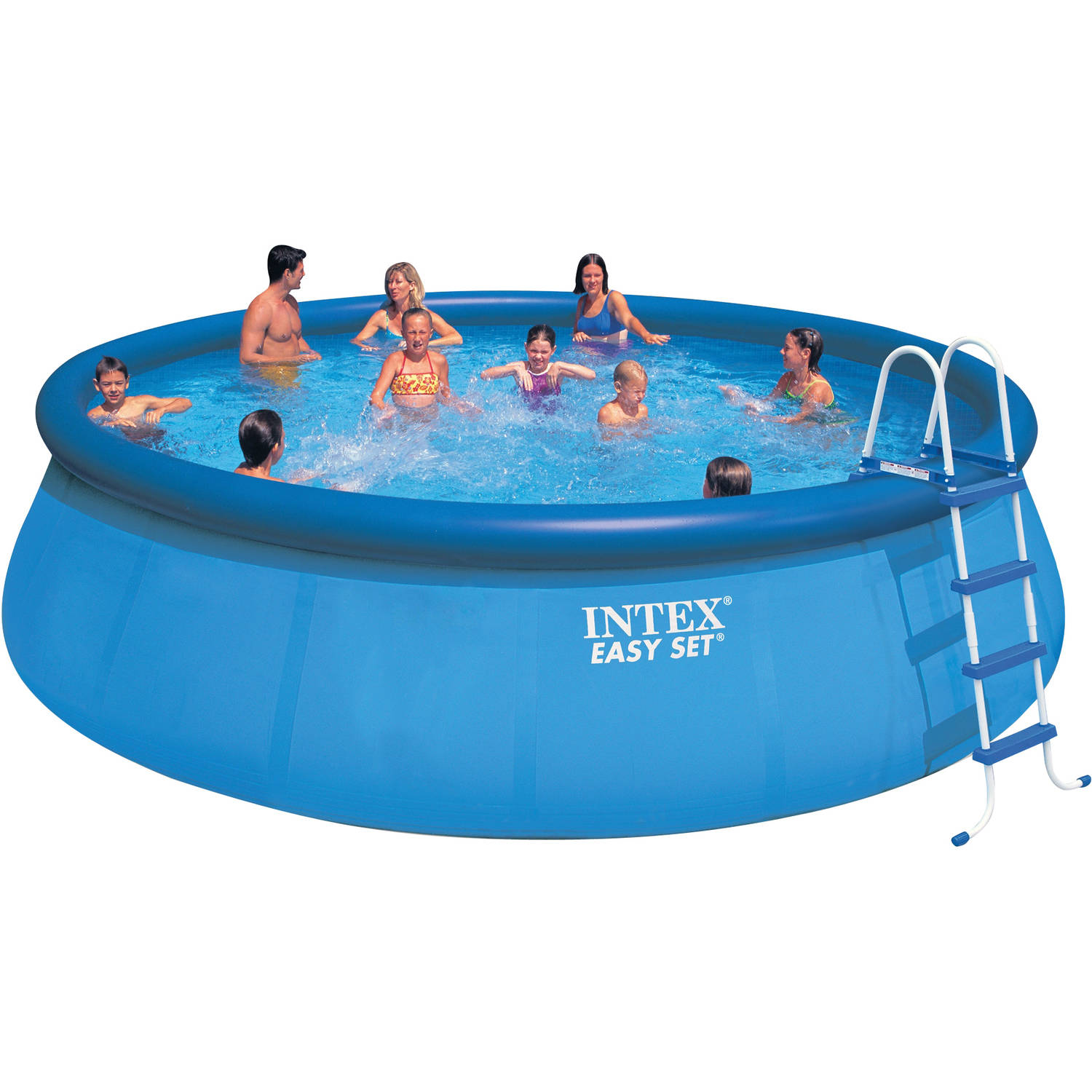 "Intex 18' x 48"" Easy Set Swimming Pool"