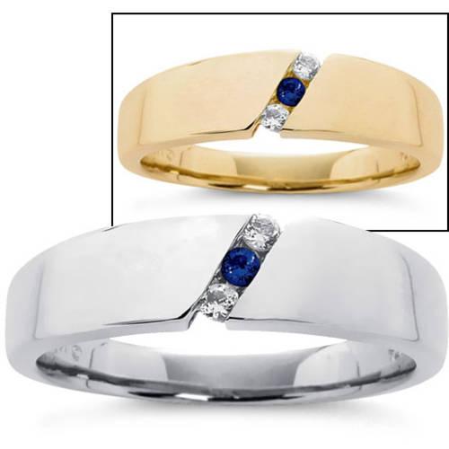 Keepsake Personalized Men's Birthstone Ring