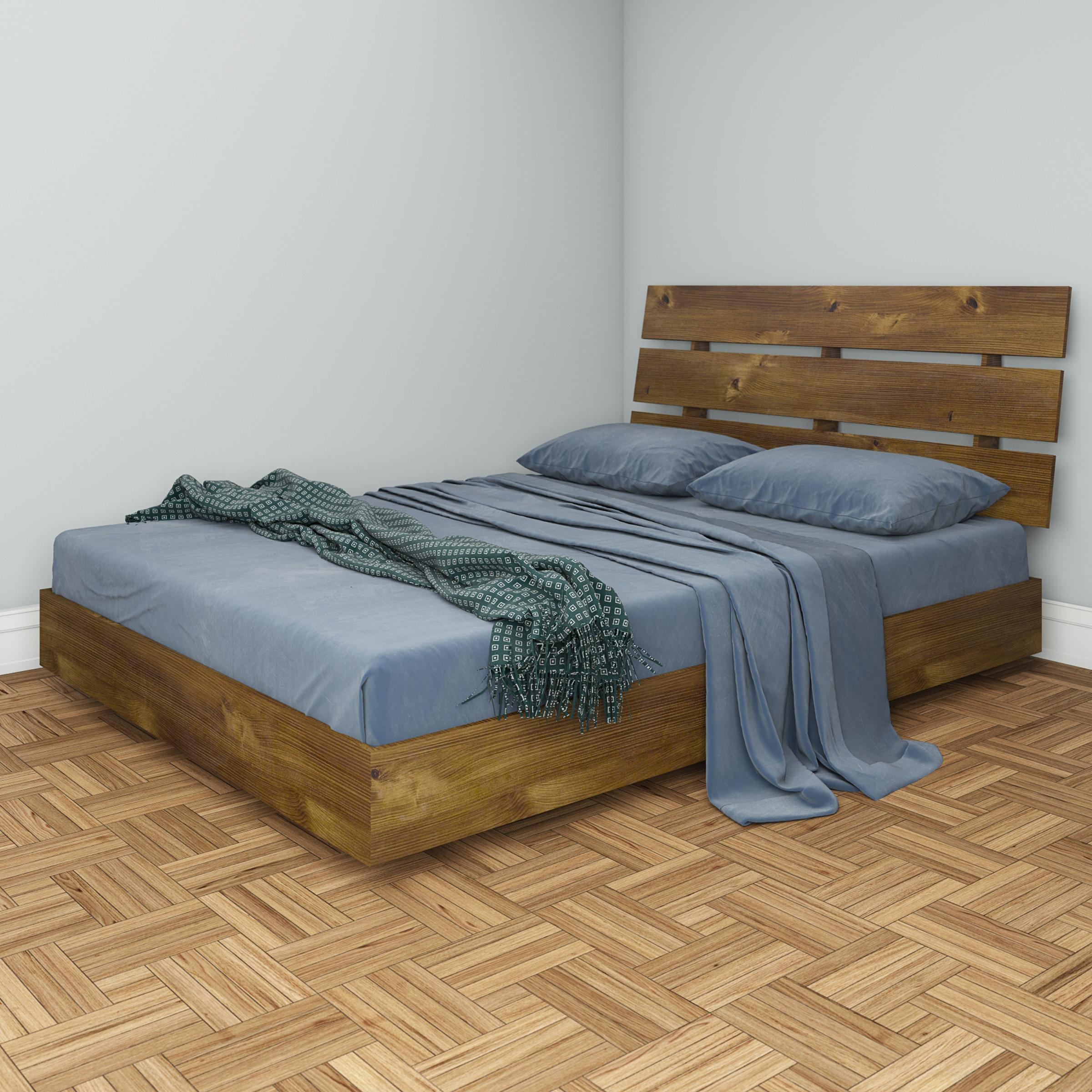 Nocce Platform Bed And Headboard Sizequeen Walmart Com
