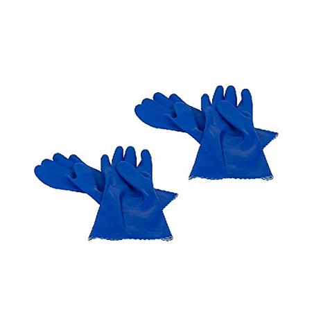 2 Pack of Latex Free Heavy Duty Rubber Gloves (2/Pack), Protect your hands from chemicals while cleaning using this pair of Casabella Rubber Gloves By (Cleaning Tools And Equipment And Their Uses)