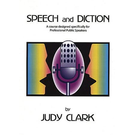 Judy Clark - Speech & Diction Book & CD Set for Professional Sp [CD] (Judy Clark)