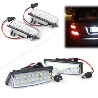 GZYF 1PC White LED License Plates Lights For Nissan Altima Maxima Murano