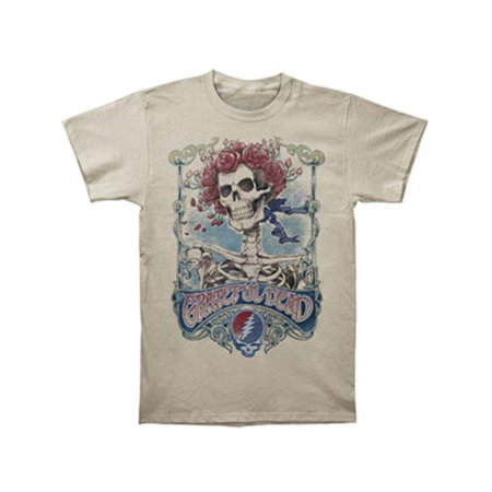 Grateful Dead Men's  Big Bertha T-shirt Ivory - Grateful Dead Birthday Cake