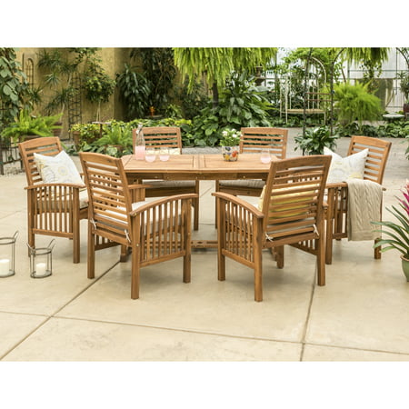 Manor Park Outdoor Patio Dining Set, 7 Piece Now $549.97 (Was $1156.14)