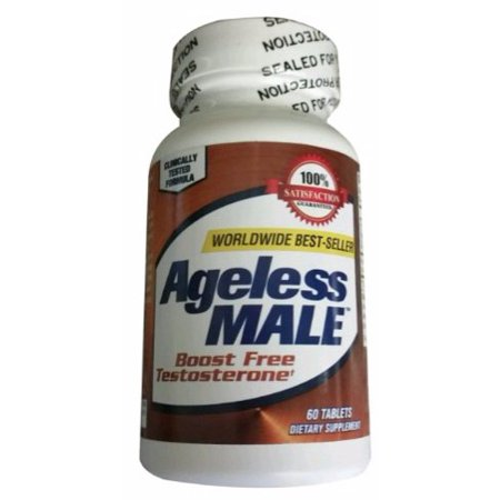 New Vitality Ageless Male Testosterone Booster 60 Tablets Walmart Com