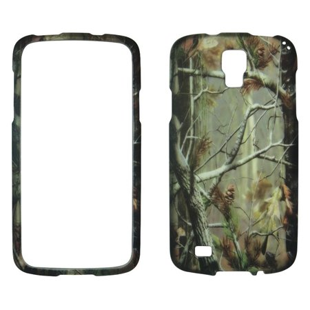 Camo Pine Case for Samsung Galaxy S4 i9500 Designer Cover Protector Snap on Shield Hard Shell Phone Case ()