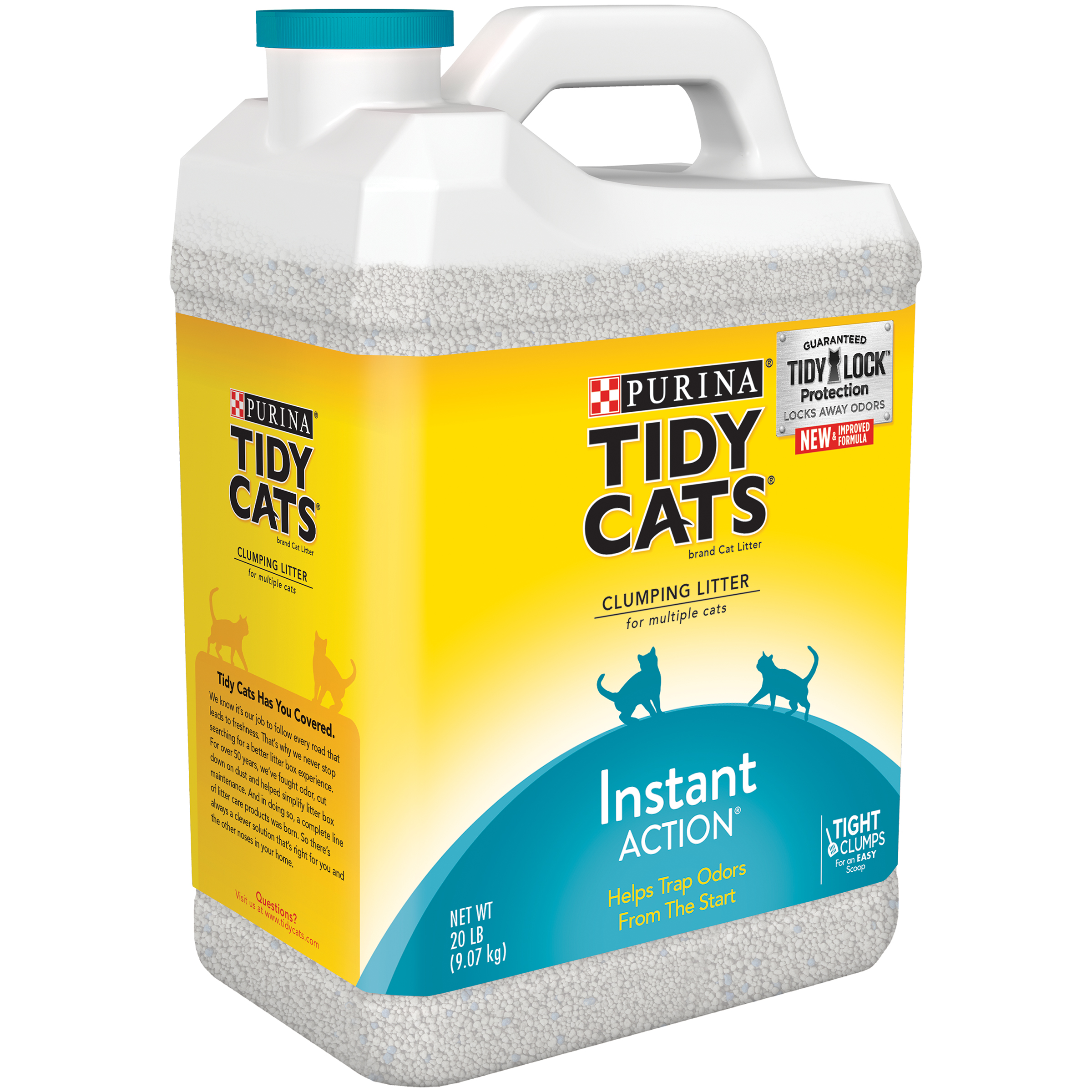 tidy cat litter purina tidy cats clumping litter instant for 10647