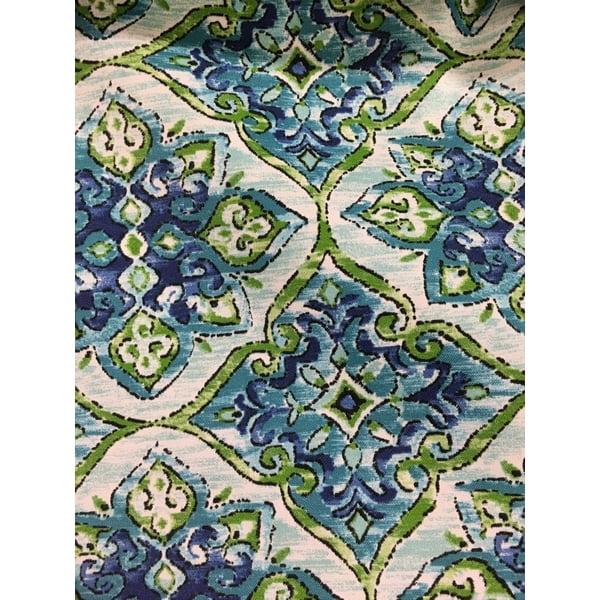 Jordan Manufacturing Outdoor Fabric By The Yard, Splendor Lagoon
