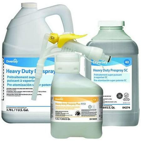 Diversey 4274 J-Fill® #40 Heavy Duty Carpet Prespray, 2.5L,