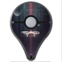 Skins Decals For Pokemon Go Plus (2-Pack) Cover / Darth At Death Star