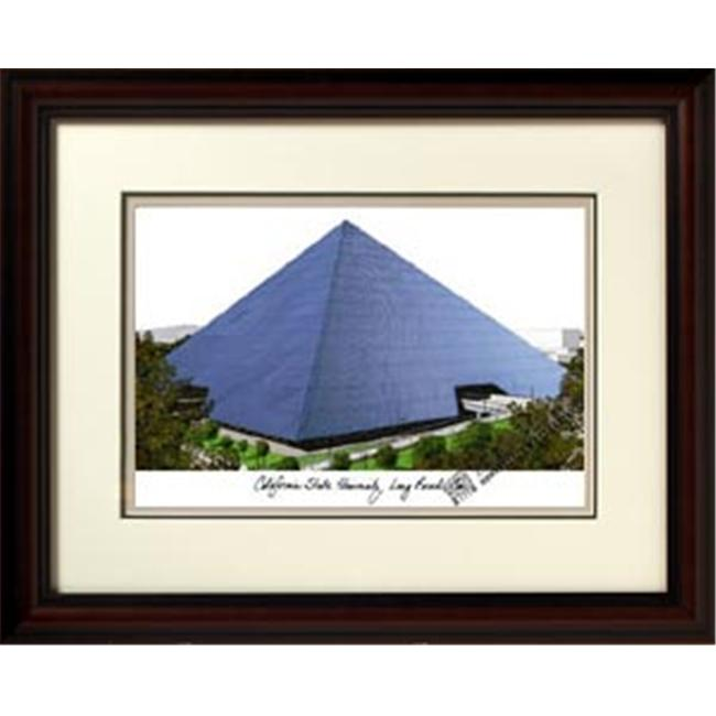 Campus Images CA923R California State University Long Beach Alumnus Framed Lithogr