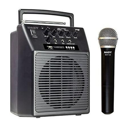 Nady Wa-120bt Ht Public Address System - 20 W Amplifier - Speaker (wa120btht-b)