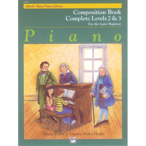 Alfred Publishing Company Alfred's Basic Piano Course: Composition Book Complete 2 and 3 by Alfred Publishing Company