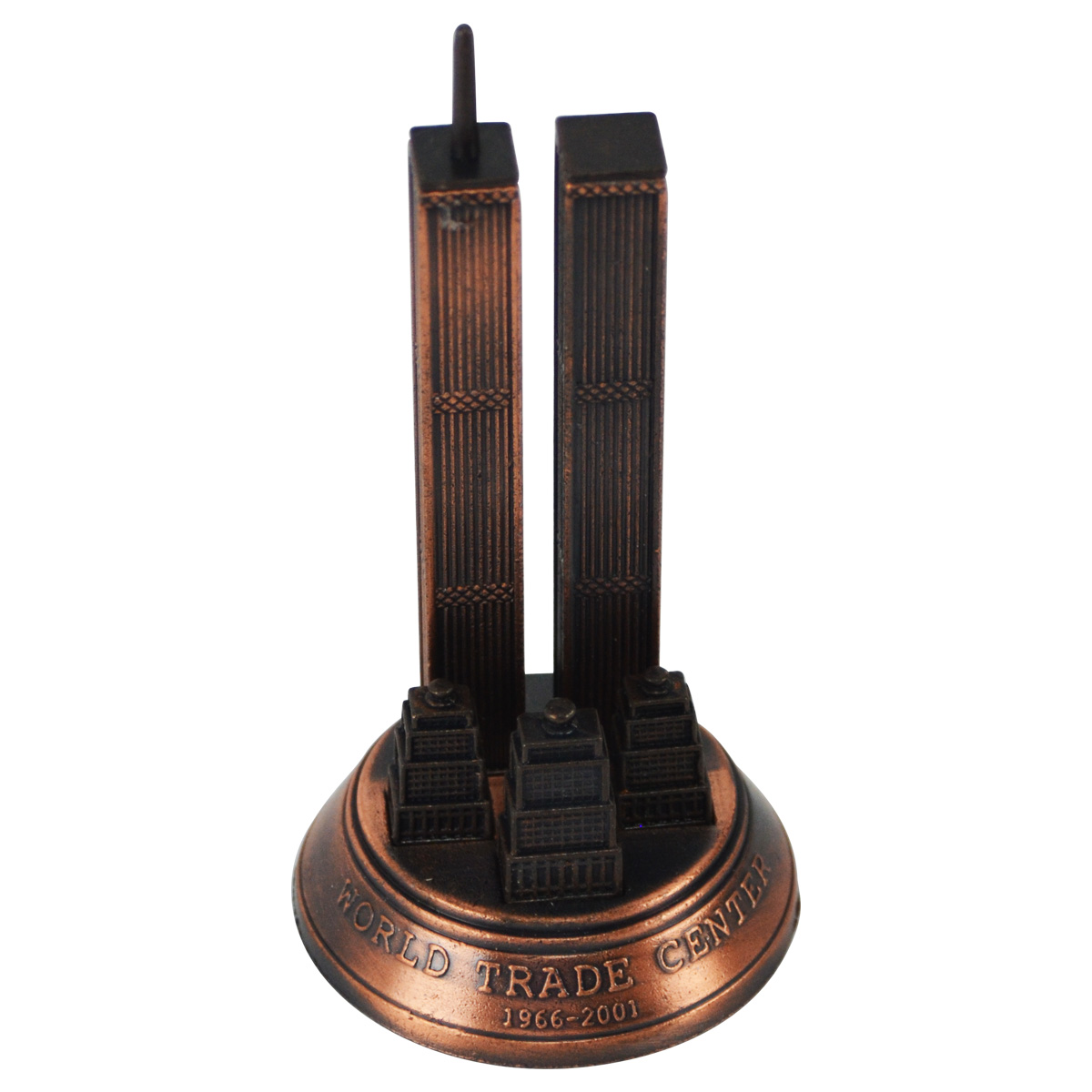 Bronze Metal Liberty Bell Miniature Replica Die Cast Novelty Pencil Sharpener
