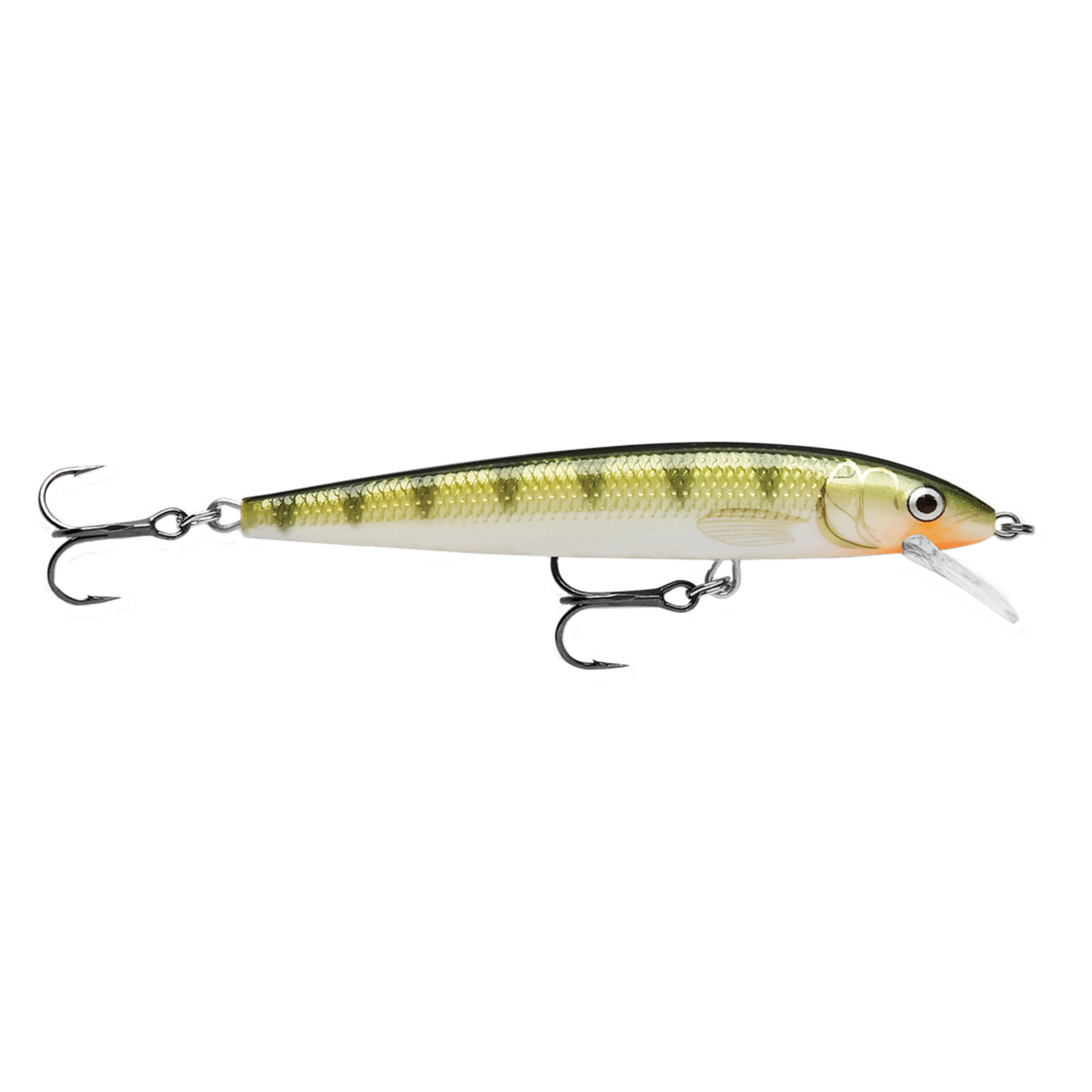 "Rapala Husky Jerk Lure Size 08, 3 1 2"" Length, 4'6' Depth, 2 Number 6 Treble Hooks, Yellow Perch, Per 1 by Rapala"