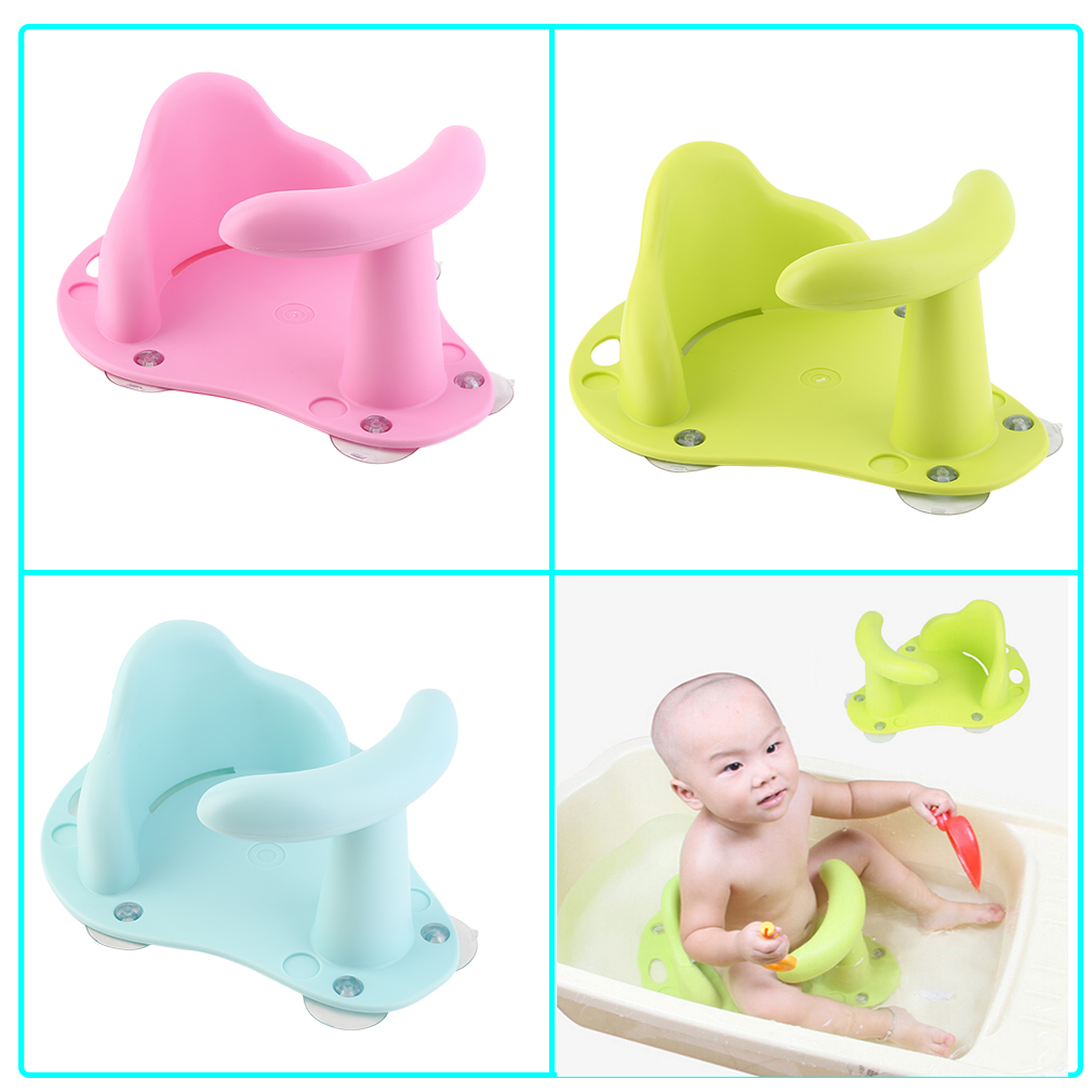 Baby Bathtub Ring Seat Infant Child Anti Slip Safety Security Chair, Blue    Walmart.com