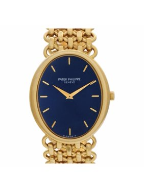 Pre-Owned Patek Philippe Ellipse 3798/1 Gold  Watch (Certified Authentic & Warranty)