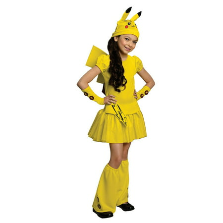 Pokemon Pikachu Child Costume - Pokemon Halloween Costumes For Girls