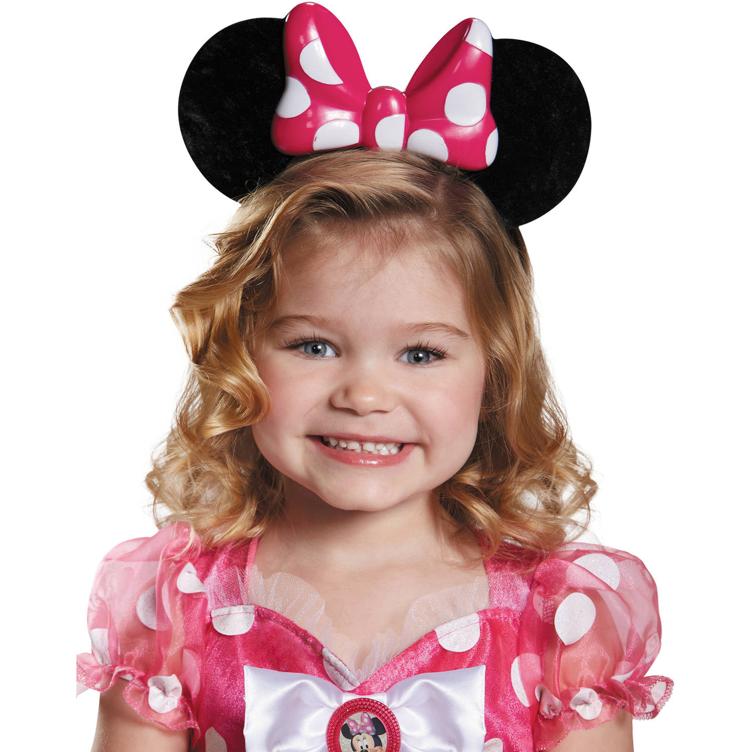 Pink Minnie Light-Up Ears Child Halloween Accessory