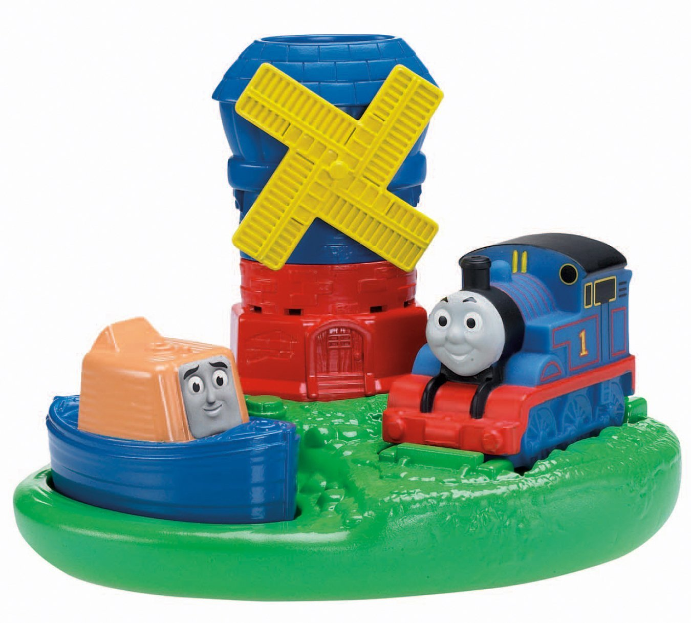 Thomas the Train: Island of Sodor Bath Playset, Have fun in the tub ...