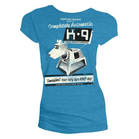 Doctor Who Classic Womens T-Shirt K-9 Your Very Own Robot Dog - Make Your Own Shirt At Home