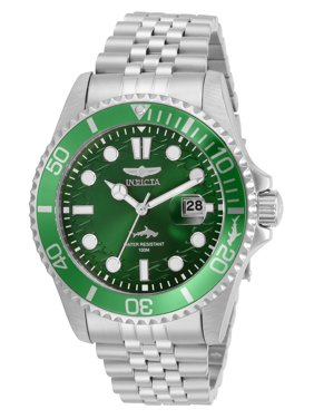 Invicta Pro Diver Men's Stainless Steel Green Dial Watch - Model 30611