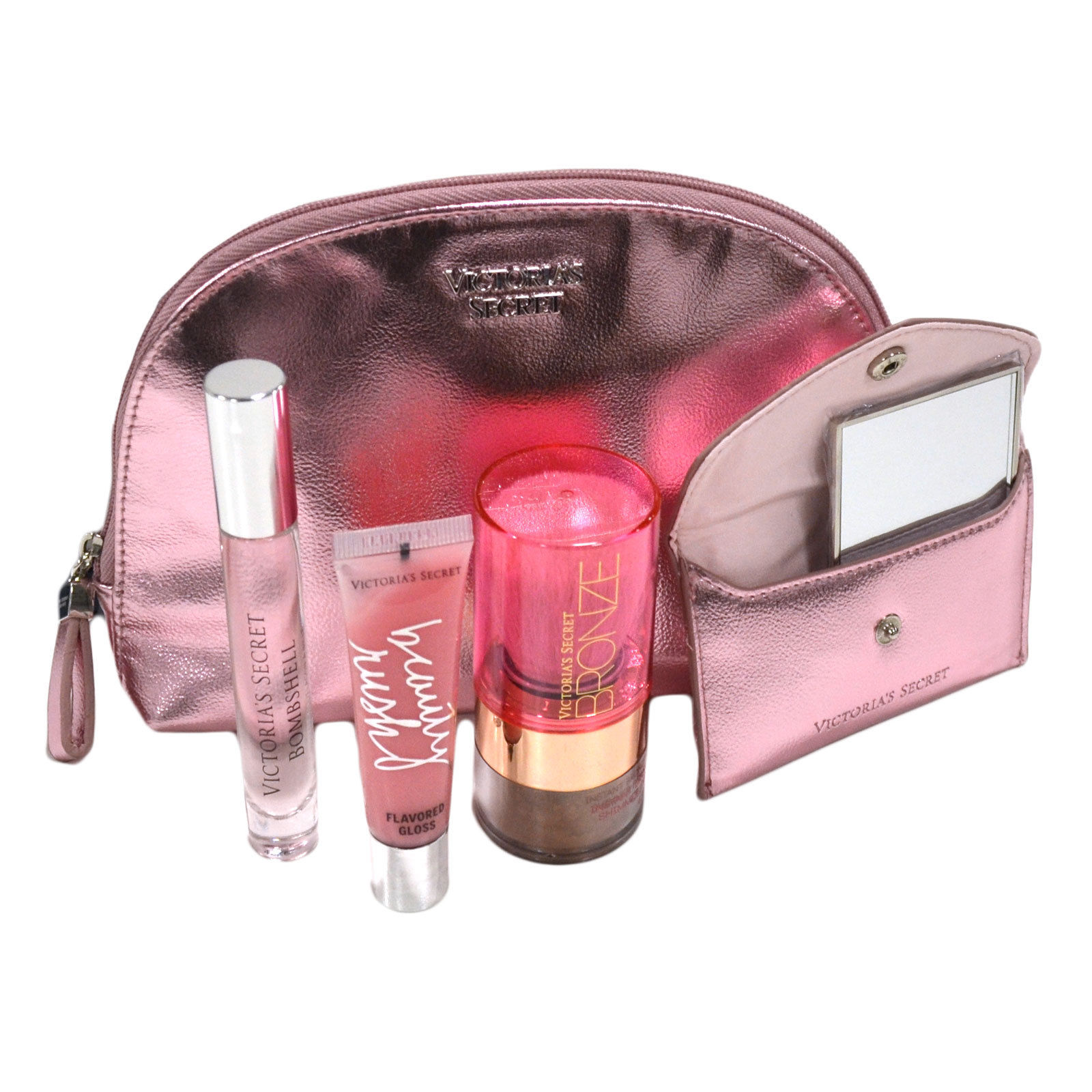 Victoria's Secret Hot Summer Nights Beauty Essentials Kit (Pink Bombshell)
