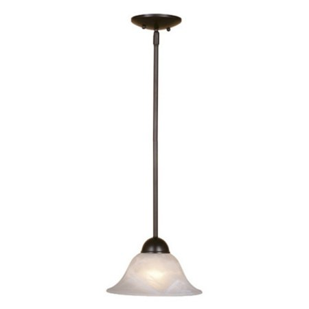 Vaxcel Da Vinci Mini Pendant - 9.63W in. Oil Burnished Bronze