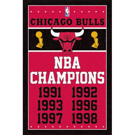- Trends International Chicago Bulls Champions Wall Poster 22.375