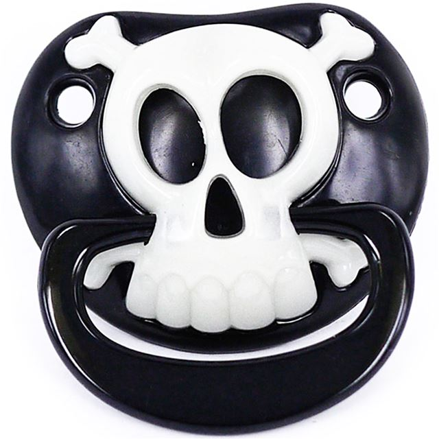 PIRATE INFANT PACIFIER - Billy Bob - GLOW IN THE DARK