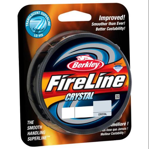Berkley Fireline Fused Crystal Fishing Line, 300 yd Filler Spool by Berkley