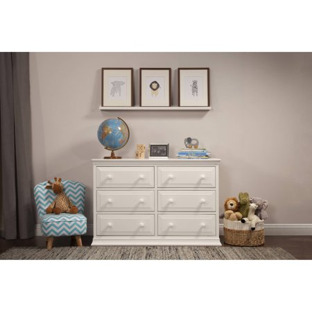 Davinci Signature 6 Drawer Double Dresser  Choose Your Finish
