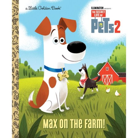 Max on the Farm! (The Secret Life of Pets 2) - eBook