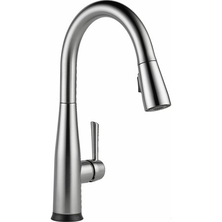 Delta Overland SpotShield Stainless Pull Down Kitchen Faucet with