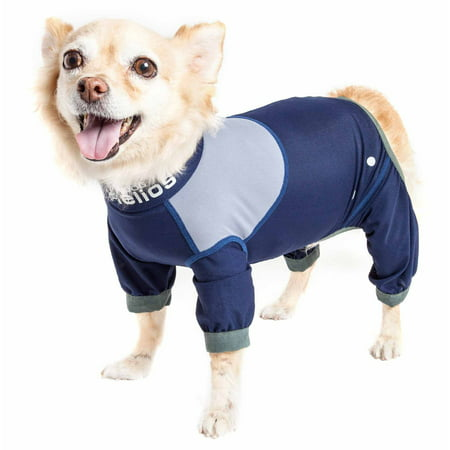 - Dog Helios ® 'Tail Runner' Lightweight 4-Way-Stretch Breathable Full Bodied Performance Dog Track Suit