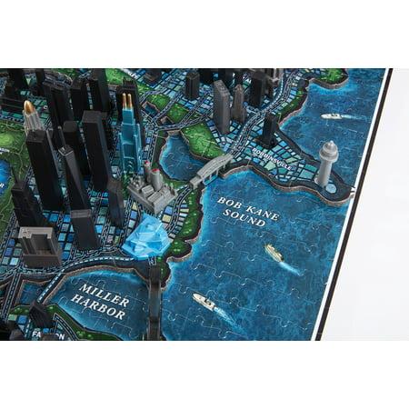 4D Cityscape 4D Batman Gotham City Time Puzzle (1000 Piece) - image 9 of 10