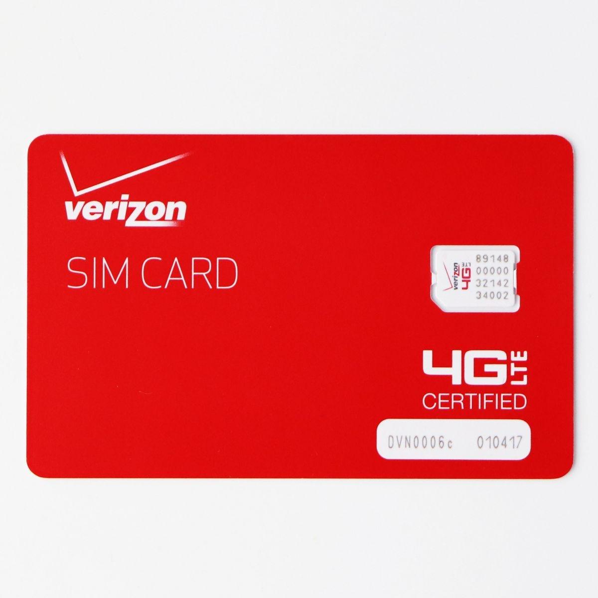 Verizon Nano Sized SIM Card 4G LTE (BULK4FF-NFC-D) (Refurbished)