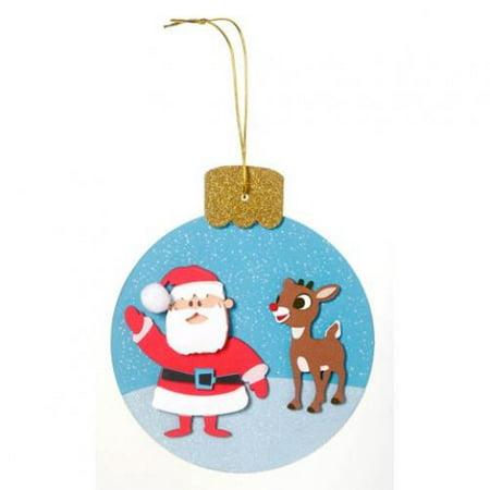 Christmas Foam Activity Bucket with Bells
