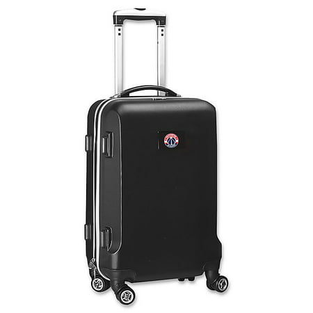 NBA Washington Wizards 20-Inch Hardside Carry On Spinner in Black