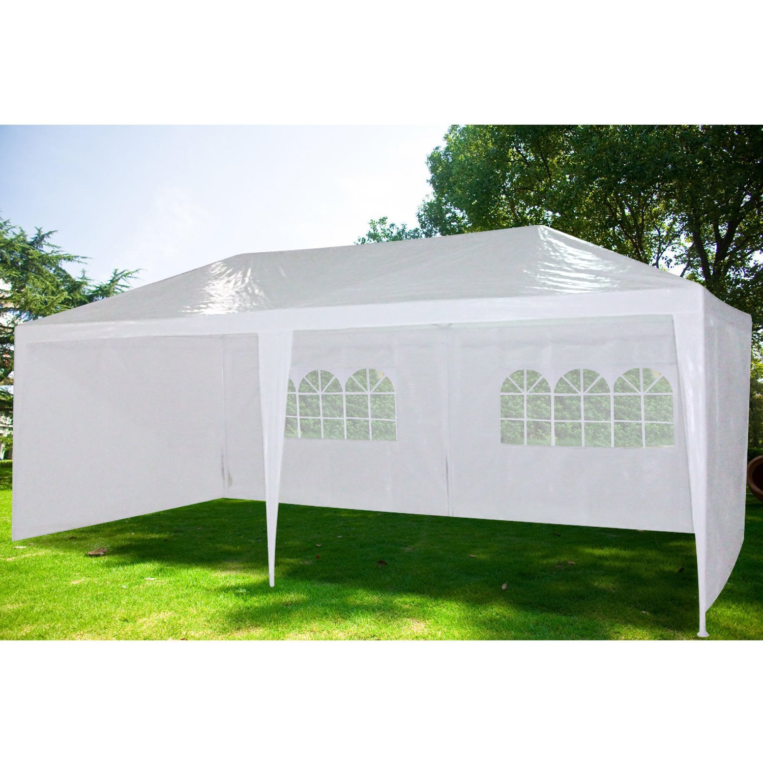 Quictent 10'x20'Heavy duty Outdoor Canopy Party Wedding Tent Gazebo Pavilion 4 Walls