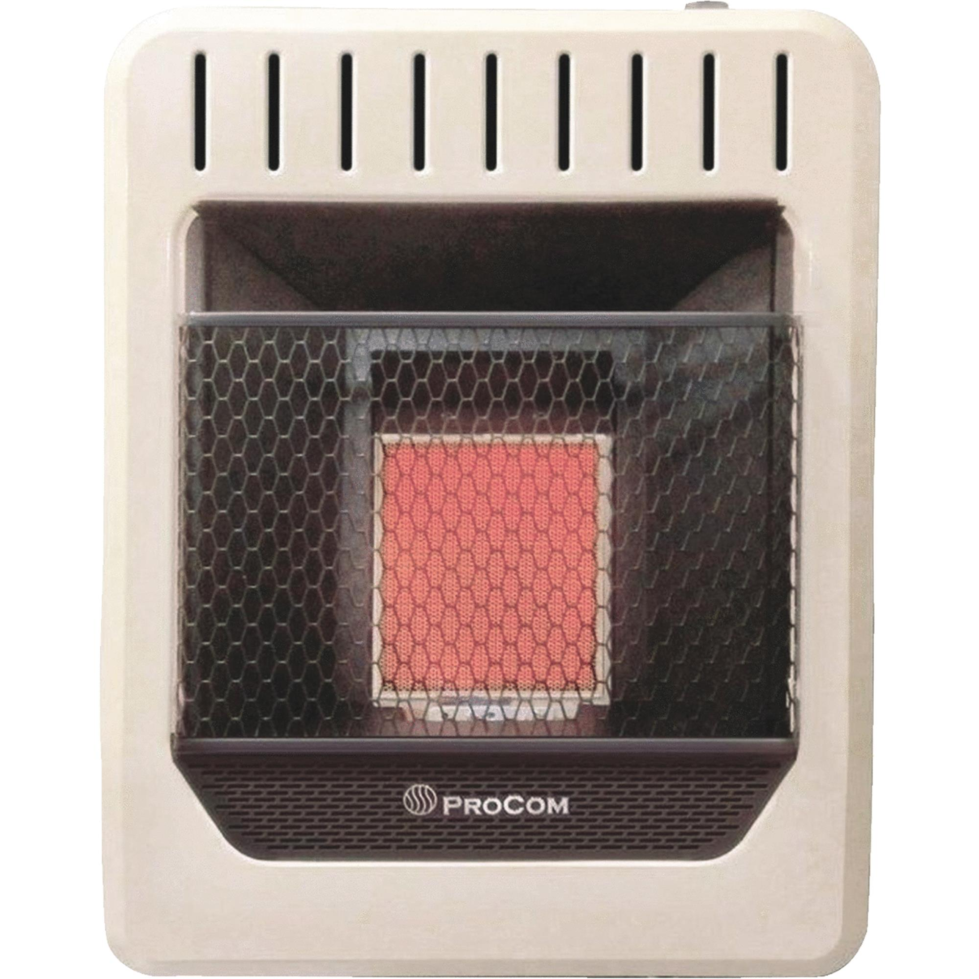 ProCom Dual Fuel Infrared Gas Wall Heater