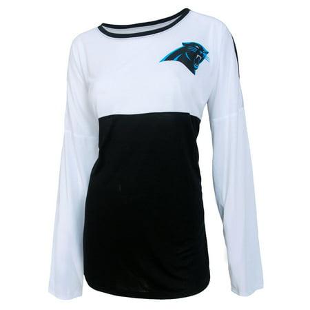 Carolina Panthers Women 39 S Nfl Vortex Long Sleeve Fashion